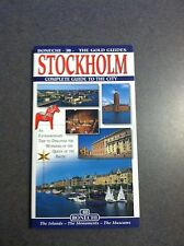 Stockholm Complete Guide To The City by The Gold Guides Paperback Color