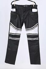 ROBINS JEANS MOTO THE SHOW JEANS BLACK & WHITE MEN OWNED BY THE RASCAL FLATTS