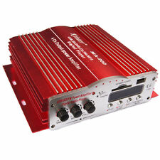 12V Kinter 4CH Car Audio Power Amplifier Player MA 200 Stereo SD Fit HIY