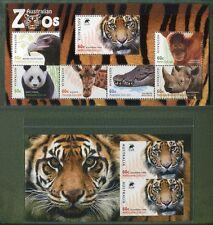 Australien Australia 2012 Tiere Block 149 Flocking plus Block 156-62 Auflage 500