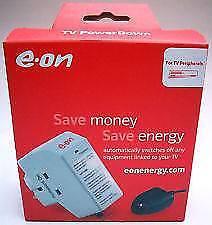 Protección contra sobretensiones Eon apagar Zócalo de ahorro de energía con sensor remoto de TV por Eon