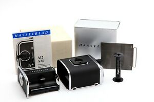 Near Mint Hasselblad A12 Chrome Back 30074 with Box #32911