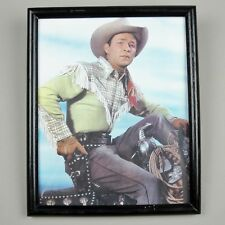 ROY ROGERS 1945 Close-Up *Framed* 8x10 Color Publicity Photo
