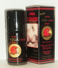 ORIGINAL NEW SUPER VIGA 150000 DELAY SPRAY Premature Ejaculation extra Vitamin E
