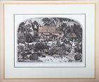 Graham Clarke (b.1941) - 1977 Etching, Thomas Hardy's Cottage