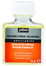 Pebeo Refined Linseed Oil for Surface Preparation & Painting 75ml