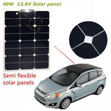40W 13.6v Semi Flexible Energy Solar Panel For Battery Charger Boat Caravan