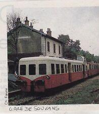 1984  --  AUTORAIL EN GARE DE LOUVANS    3F252