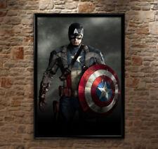 Captain America Captain America Art Posters