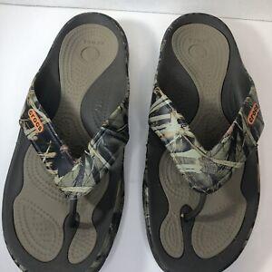 Crocs Camo Mens Size 12
