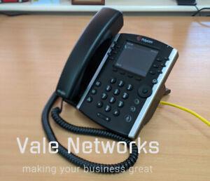 Polycom VVX 411 HD Business IP Desktop Phone For Skype POE