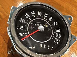 1968 Oldsmobile Cutlass 442 F85 column shift speedometer screw on cable Restored