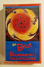 THE B-52'S - Bouncing off the satellites - MC Cassette 1986 Made in Italy