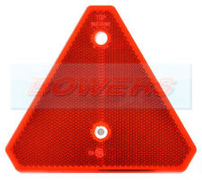 RED SCREW ON REFLECTIVE TRIANGLE REFLECTOR FOR IFOR WILLIAMS TRAILER CARAVAN