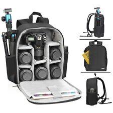 CADeN Camera Backpack Waterproof Bag Lens Case Rucksack For DSLR SLR Canon Nikon