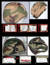 F Couvre casque italien pour M33 933 ou kevlar : SOMALIA ou NATO Woodland