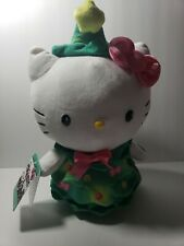 "Sanrio Hello Kitty Christmas 12"" Light Up Twirling Plush Doll NWT"