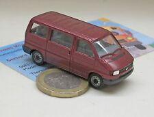 Herpa 041577: VW T4 Caravelle Bus, coloris rouge métallique