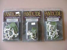 Fanticide Liberi Centaur warband - Chief, Crushers & Stickers (spears)