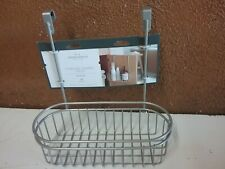Over the Cabinet Hanging Storage Caddy Brushed Nickel - Threshold