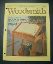 WOODSMITH MAGAZINE AUG 1992  #82 HEIRLOOM BOOK STAND SHOP DRAFTING CABINET