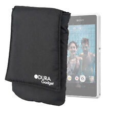 Padded & Durable Phone Sock Pouch Case for NEW Sony Xperia Z1 Compact in Black