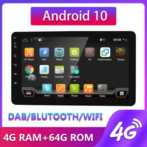 PX6 Android 10 Car Stereo Radio WIFI Headunit Navigation GPS 4+64G for universal