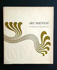 ART NOUVEAU MoMA 1959 Painting Sculpture Architecture Graphic Design Decorative