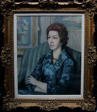 HARRY RUTHERFORD 1903-1985 BRITISH LISTED NORTHERN SCHOOL OIL PAINTING ART LOWRY