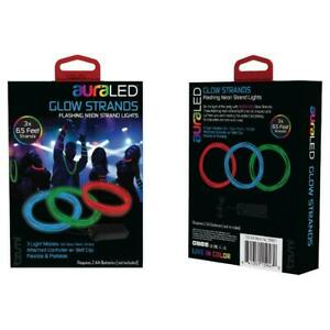 Tzumi auraLED Glow 6.5' Waterproof Battery-Operated Neon Rope Light BUYER GET 2