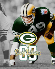 Green Bay Packers DAVE ROBINSON Spotlight Photo 8x10 #1 NFL Hall Of Fame HOF