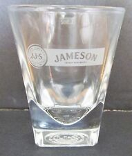 JAMESON IRISH WHISKEY  NICE SQUARE BASED SHORT SHOT GLASS