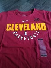 9df856eb Men's Nike NBA Cleveland Cavaliers Practice Performance T-shirt Lebron  James XL