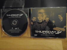 RARE PROMO Thursday DVD War All the Time VIDEO + behind the scenes No Devotion !