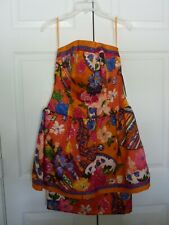 NWT Vintage AJ Bari size 8 100% Silk Dress Prom 80s 90s Floral Party $280