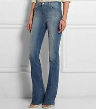$225 NWT J Brand Lovestory sz 28 Low Rise Bell Bottom Distressed Jean Mesmerize