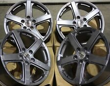 "ALLOY WHEELS X 4 18"" GREY VIPER FOR VW TRANSPORTER T5 AMAROK TOUAREG"