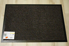 Fußmatte Türmatte Astra Graphit 60 Braun 90x150 cm