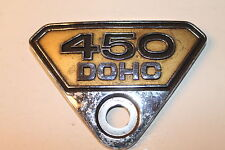 COPERCHIO LATERALE emblem badge side cover, emblema HONDA CB 450 K, DOHC