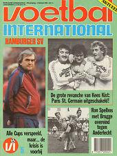 V.I. 1984 nr. 05 - HAMBURGER SV/VVV/BERRY VAN AERLE/KEES KIST/PETER ARNTZ