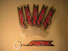 5x AFX HELMET KEY CHAINS QUANTITY OF 5 NEW MOTORCYCLE / BIKE KEY RINGS