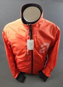 New Genuine Aprilia Nylon Reversible Jacket, Red
