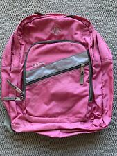 L.L. Bean Backpack Pink With Reflector