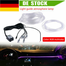 5 IN 1 Auto RGB LED Strip Lichtleiste Innenraum Ambientebeleuchtung Control