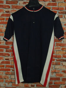 Shirt Bike Shirt Maillot Cycling Heroic Vintage 70'S 50% Wool