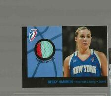 Becky Hammon WNBA jersey card card 2005 New York Liberty VARIATION