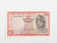 1st Series Malaysia $10 SA-Puloh A/30 27 23 23 Condition : AU