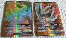 2 CARTES POKEMON WHITE KYUREM GX HP190 NEUVE 74/70 - 48/70 FULL ART BASIC