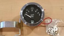 """*New* Electric Fuel Level Gauge 2 1/16"""" &Free Gift chrome bolt caps"""