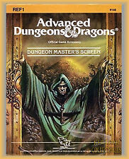 NEW - Dungeon Master's Screen AD&D 1st edition, D&D Advanced & Dragons, DM Guide